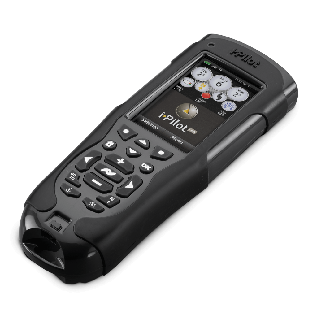 The I Pilot link remote offers a full LCD screen that is very easy to control and navigate